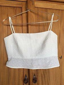 Top algodão branco (38) - Giuliana Romanno