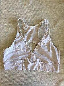 Top fitness branco cotton (P)