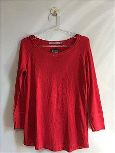 Blusa malha red (P) - Animale