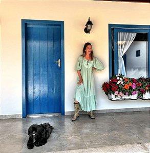 Vestido menta (M) - Lidi Lobato