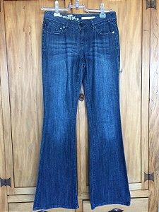 Calça Jeans boot cut (38) - DKNJ