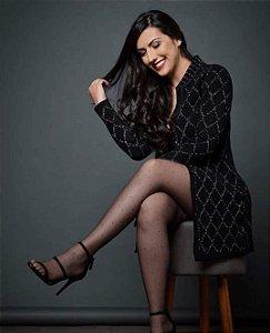 Casaco tricot lurex  (P) - Janaina Soleo NOVO