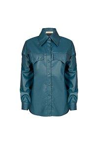 Camisa Aryane Azul (PP a G) NOVA