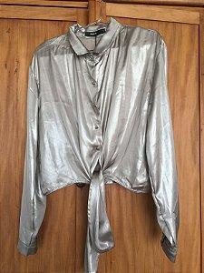 Camisa metalizada (42) - Amaro NOVA