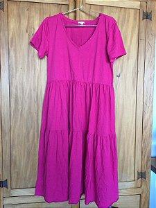 Vestido curto rosa (G) - Quintess