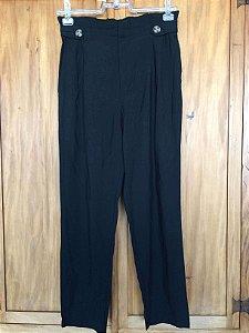 Calça preta (M) - Zara