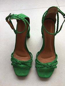 Sandália verde - Constance