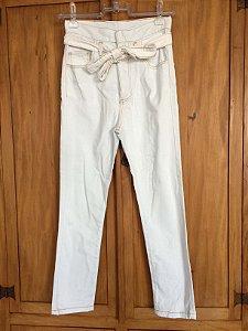 Calça jeans botões (36) - Mixed