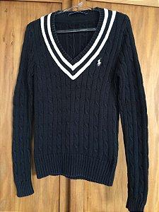 Blusa tricot (M) - Ralph Lauren