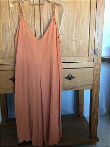 Macacão pantacourt com top (P) - Dress.to