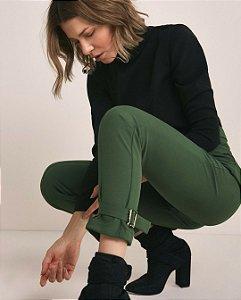 Calça green (38) - Ma Lobo NOVA