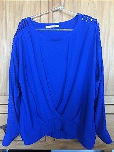 Blusa blue (P) - Shoulder