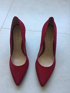 Sapato camurça (37) - Schutz NOVO