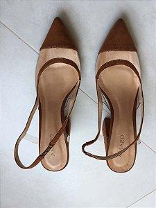Sapato vinil caramelo (37) - Amaro