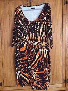 Vestido midi malha (G) - Forum