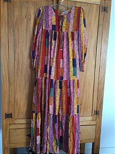 Vestido longo (P) - Farm