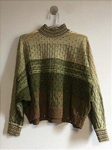 Blusa tricot mescla (P) - Maria Filó NOVA
