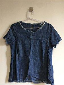 Blusa tipo jeans (P) - Shoulder NOVA