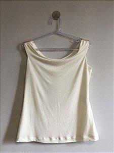 Blusa off white (42) - Alphorria NOVA
