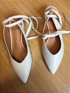 Sapato off white (37) - Loucos e Santos NOVO