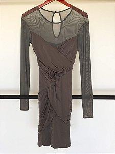 Vestido drapeado (P) - Iorane