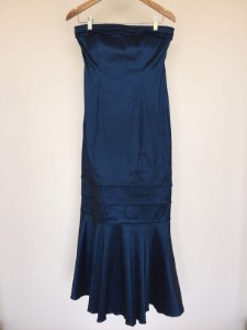 Vestido longo Azul (M)