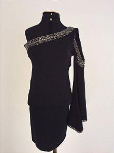 Vestido ombro bordado (PP) - Heaven