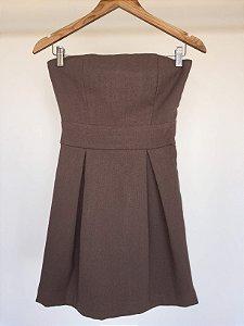 Vestido tomara que caia laço (P)