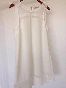 Vestido off white  (G) - Luigi Bertolli