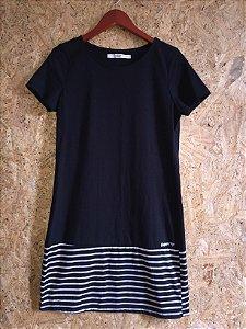 Vestido malha preto (M)