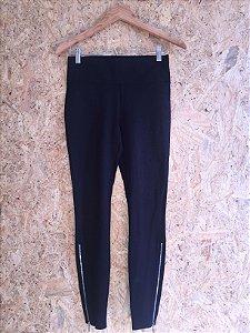 Calça algodão skinny preta (PP) - Armani Exchange
