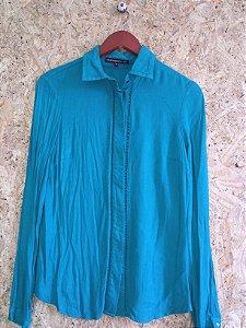 Camisa verde (36) - Giuliana Romanno