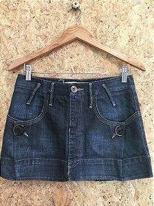 Saia jeans detalhe botões (36) - Animale