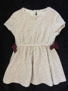 Vestido algodão detalhe laço (18 a 24 meses) - Zara Baby Girl