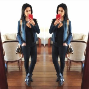 Jaqueta  jeans (M) - Guess