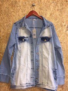 Jaqueta jeans claro (M) - Quintess