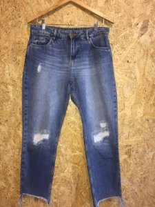 Calça jeans boyfriend destroyed (38) - Basement