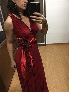 Vestido vermelho (U) - Art Blue