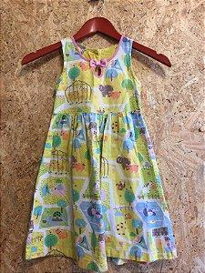 Vestido bichos (6 anos) - Alphabeto