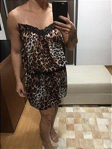 Vestido oncinha e tule (38) - k9