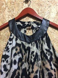 Vestido onça (P) - K9