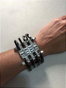 Bracelete preto - Aramez