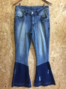 Calça jeans flare (42)