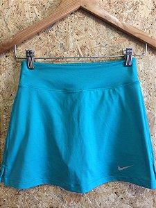 Short saia fitness verde água (PP) - Nike