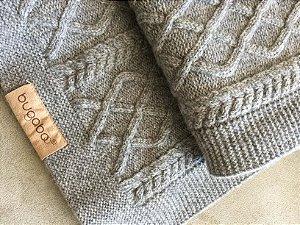 Manta tricot cinza (U) - Bugaboo