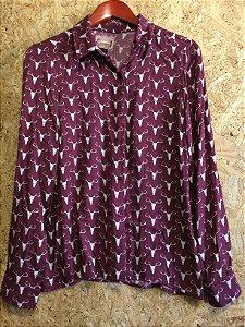 Camisa algodão (P) - Colcci