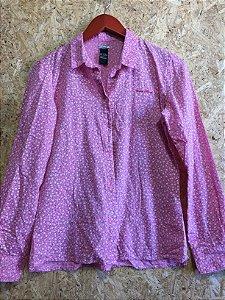 Camisa algodão flores (P) - Colcci
