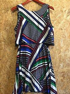 Vestido listras (PP) - Shoulder