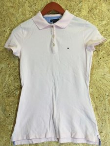 Blusa polo rosa (PP) - Tommy Hilfiger