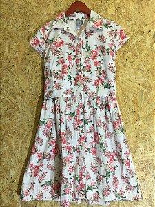 Vestido flores (M) - Hering